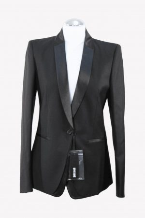 Just Cavalli Blazer in Schwarz aus Polyester Alle Jahreszeiten.1