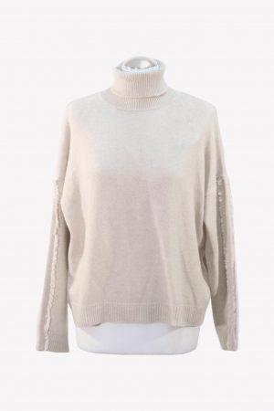 M Node Pullover in Beige aus Wolle aus Wolle Alle Jahreszeiten.1