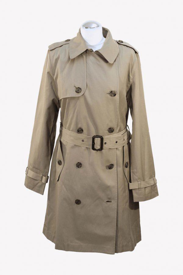 Ralph Lauren Trenchcoat in Beige aus Baumwolle aus Baumwolle Alle Jahreszeiten.1