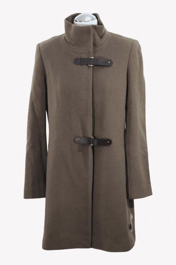 Ralph Lauren Trenchcoat in Braun aus Wolle aus Wolle Alle Jahreszeiten.1