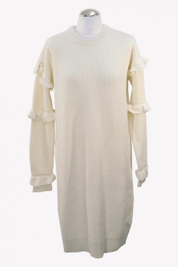 Michael Kors Pullover in Weiß aus Wolle aus Wolle Herbst / Winter.1