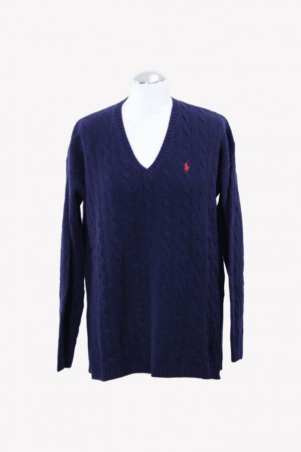 Ralph Lauren Pullover in Blau aus Wolle aus Wolle Herbst / Winter.1