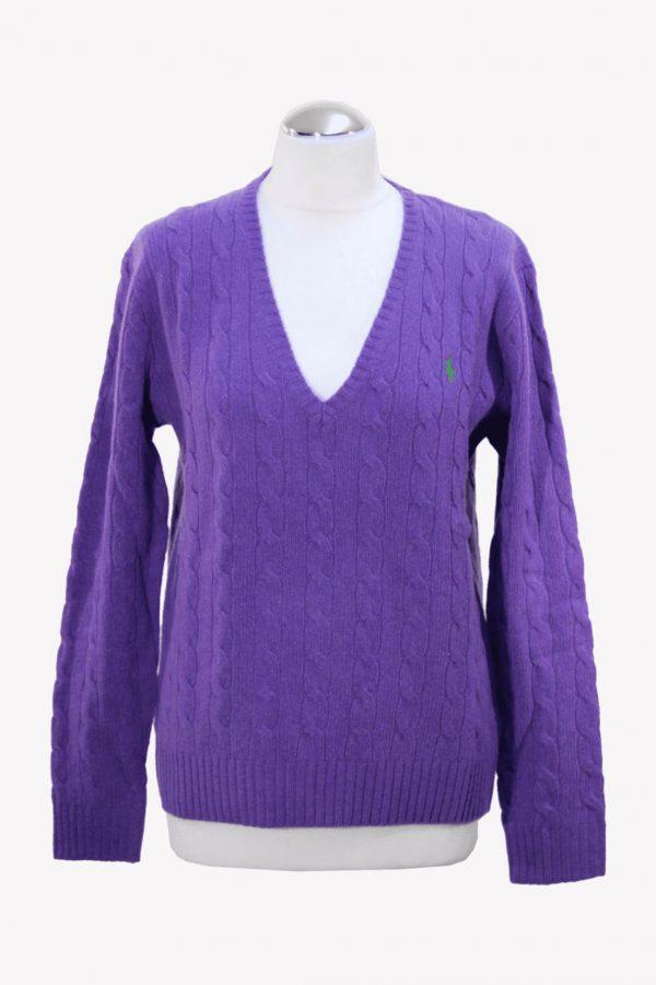 Ralph Lauren Pullover in Lila aus Wolle aus Wolle Herbst / Winter.1