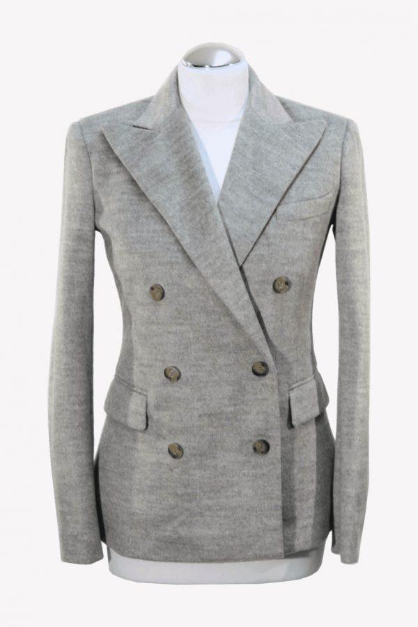 Ralph Lauren Blazer in Grau aus Polyester Alle Jahreszeiten.1