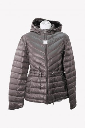 Ralph Lauren Steppjacke in Grau aus Daune Herbst / Winter.1