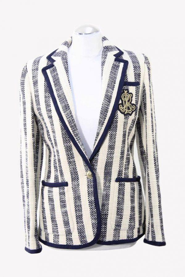 Ralph Lauren Blazer in Multicolor aus Polyester Alle Jahreszeiten.1