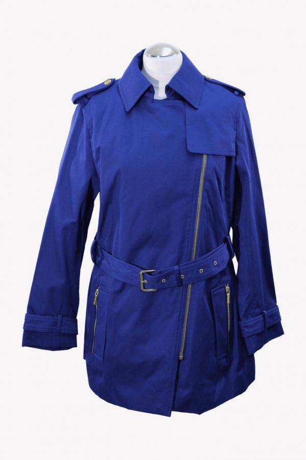 Michael Kors Trenchcoat in Blau aus Baumwolle aus Baumwolle Alle Jahreszeiten.1