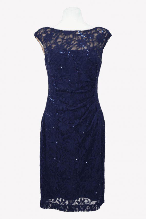 Ralph Lauren Shiftkleid in Blau aus Nylon Alle Jahreszeiten.1