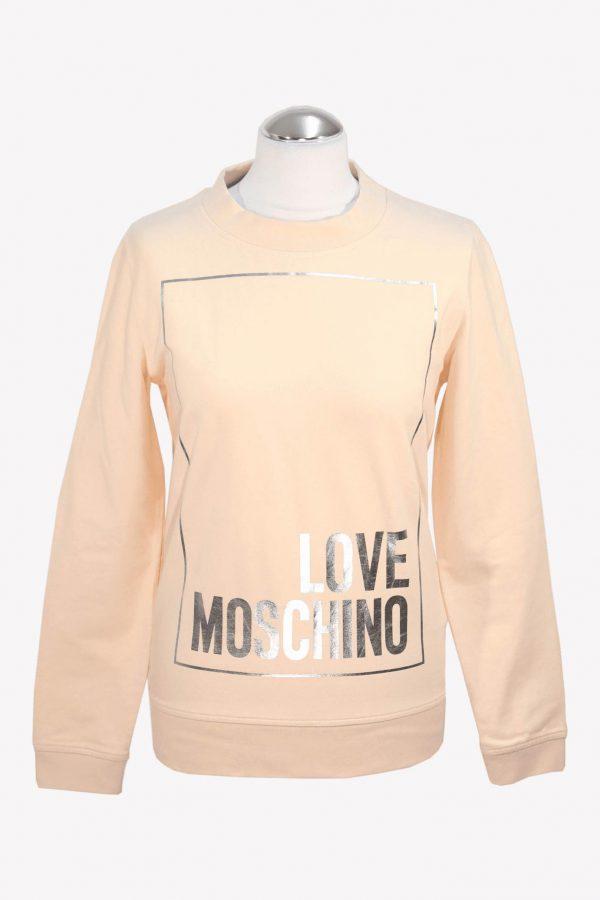 Moschino Pullover in Rosa aus Baumwolle aus Baumwolle Alle Jahreszeiten.1