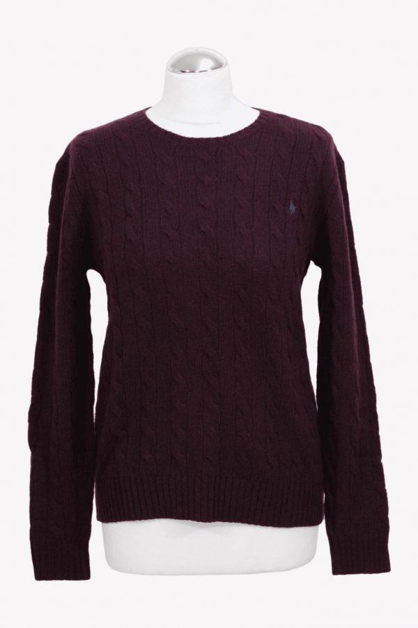 Ralph Lauren Pullover in Bordeaux aus Wolle aus Wolle Alle Jahreszeiten.1