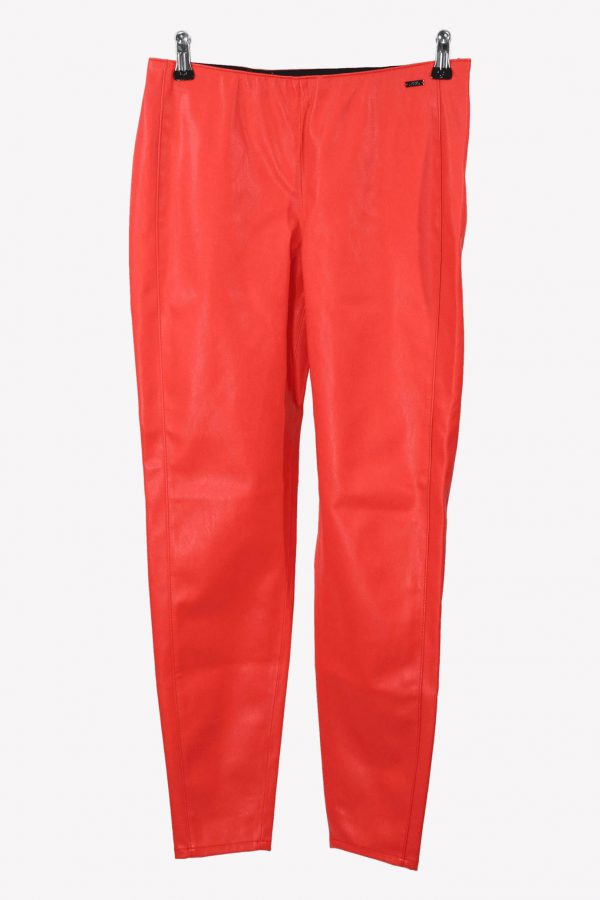 Armani Stoffhose in Rot aus Polyester Alle Jahreszeiten.1