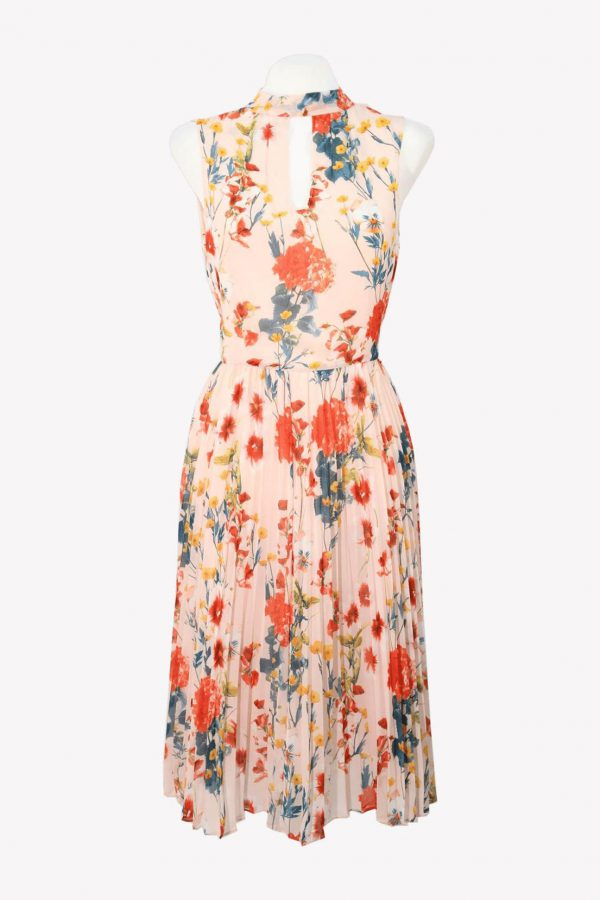 Karen Millen Shiftkleid in Multicolor aus Polyester Frühjahr / Sommer.1