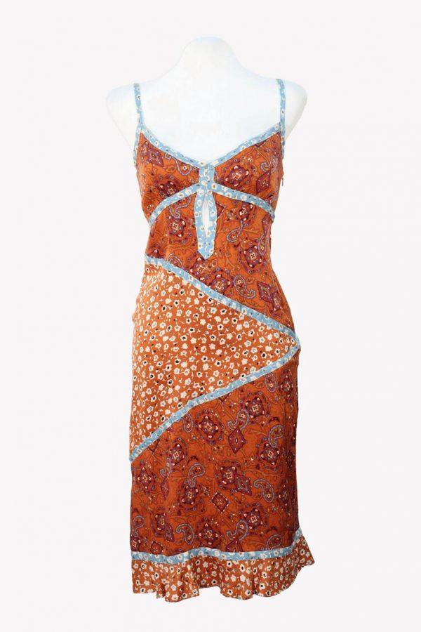 Karen Millen Trägerkleid in Multicolor aus Seide aus Seide Frühjahr / Sommer.1