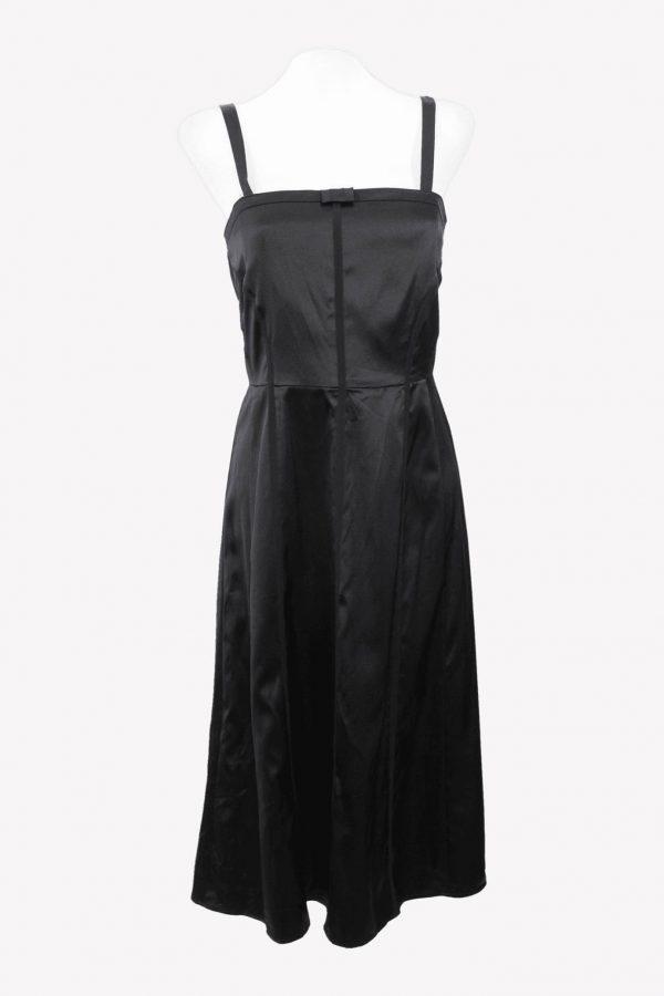 Ted Baker Trägerkleid in Schwarz aus Seide aus Seide Alle Jahreszeiten.1