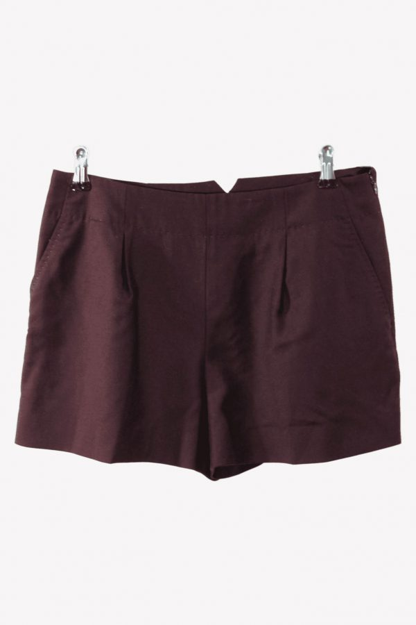 Ted Baker Stoffhose in Bordeaux aus Wolle aus Wolle Frühjahr / Sommer.1