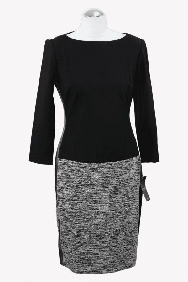 Ralph Lauren Shiftkleid in Schwarz aus Viskose Alle Jahreszeiten.1