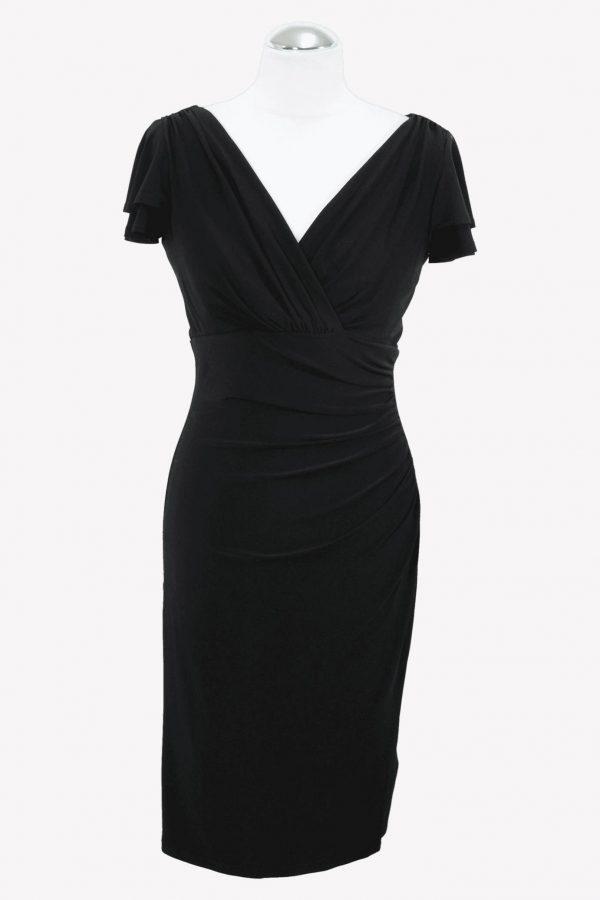 Ralph Lauren Shiftkleid in Schwarz aus Polyester Alle Jahreszeiten.1