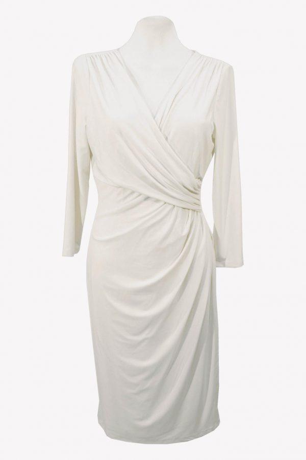 Ralph Lauren Shiftkleid in Weiß aus Polyester Frühjahr / Sommer.1