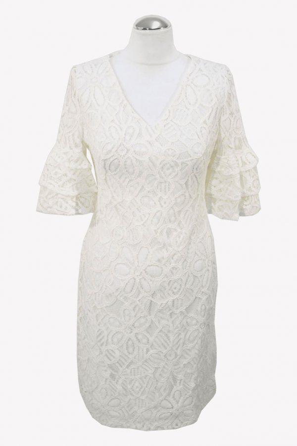 Ralph Lauren Shiftkleid in Weiß aus Baumwolle aus Baumwolle Frühjahr / Sommer.1