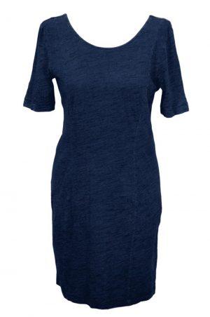 Whistles Kleid in Blau aus Baumwolle Frühjahr / Sommer.1