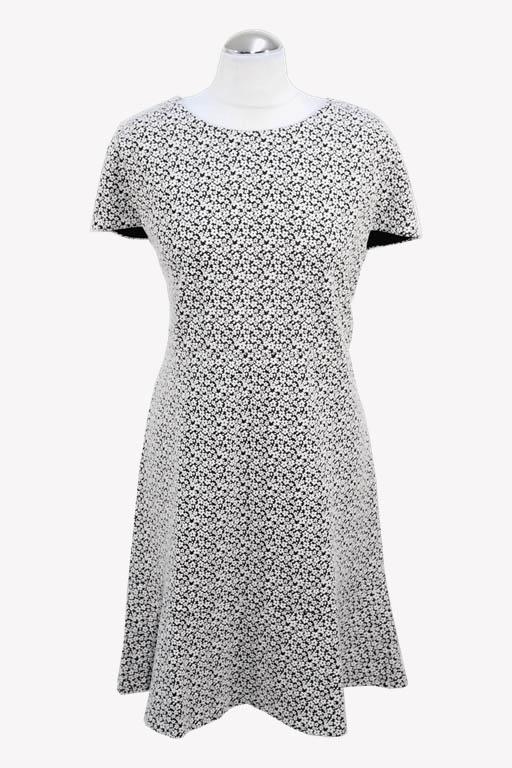 Michael Kors Shiftkleid in Schwarz / Weiß aus Baumwolle aus Baumwolle Alle Jahreszeiten.1