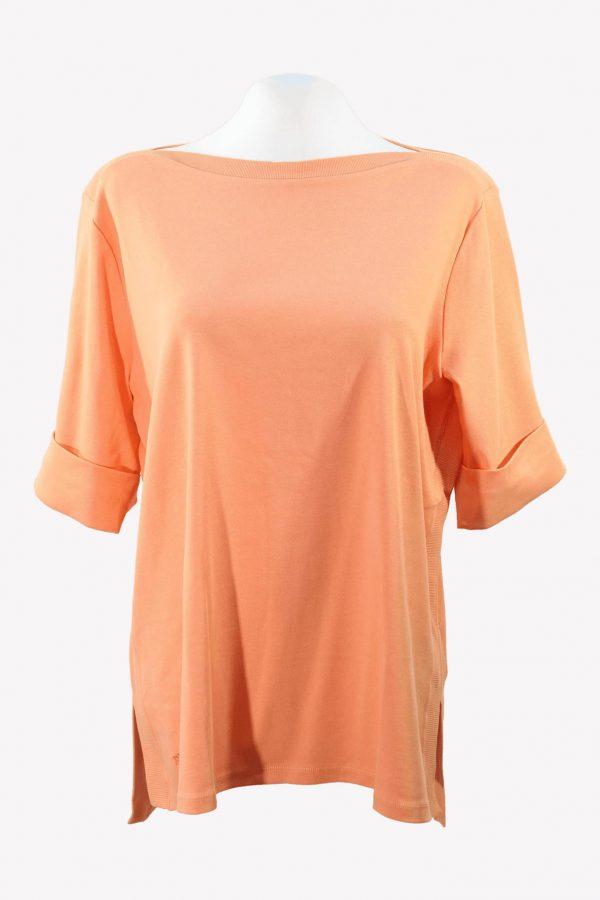 Ralph Lauren T-Shirt in Orange aus Baumwolle aus Baumwolle Alle Jahreszeiten.1