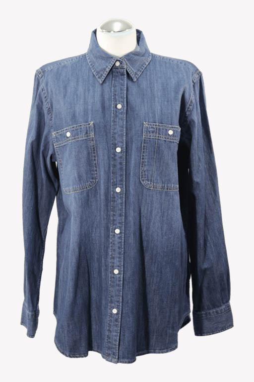 Ralph Lauren Bluse in Blau aus Baumwolle aus Baumwolle Alle Jahreszeiten.1