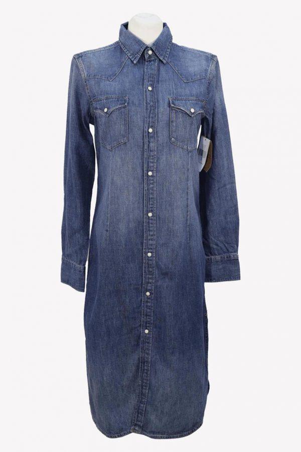 Ralph Lauren Shiftkleid in Blau aus Baumwolle aus Baumwolle Alle Jahreszeiten.1