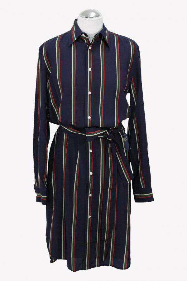 Ralph Lauren Shiftkleid in Multicolor aus Seide aus Seide Alle Jahreszeiten.1
