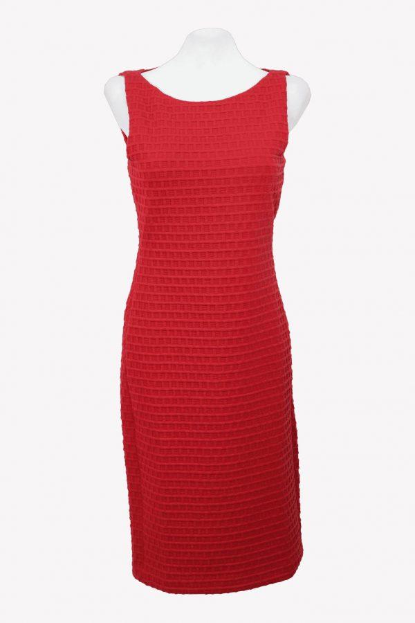 Armani Bleistiftkleid in Rot aus Polyester Alle Jahreszeiten.1
