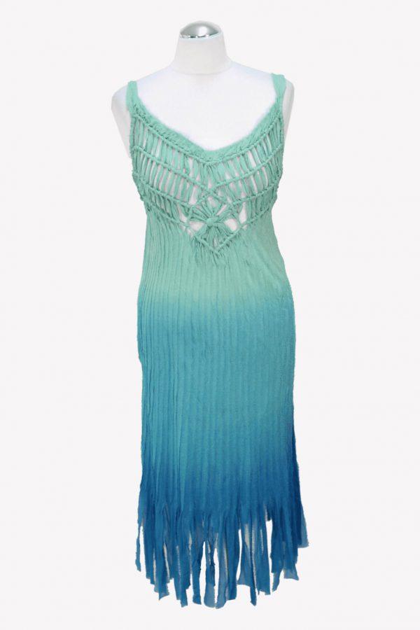 Karen Millen Trägerkleid in Blau aus Seide aus Seide Alle Jahreszeiten.1