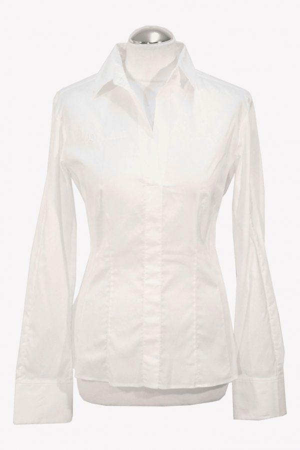 Hugo Boss Bluse in Weiß aus Baumwolle aus Baumwolle Alle Jahreszeiten.1