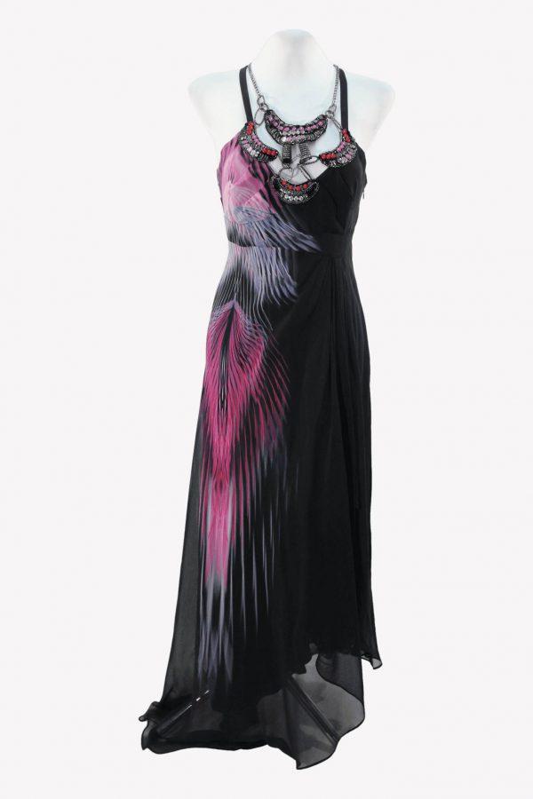 Karen Millen Trägerkleid in Multicolor aus Seide aus Seide Alle Jahreszeiten.1