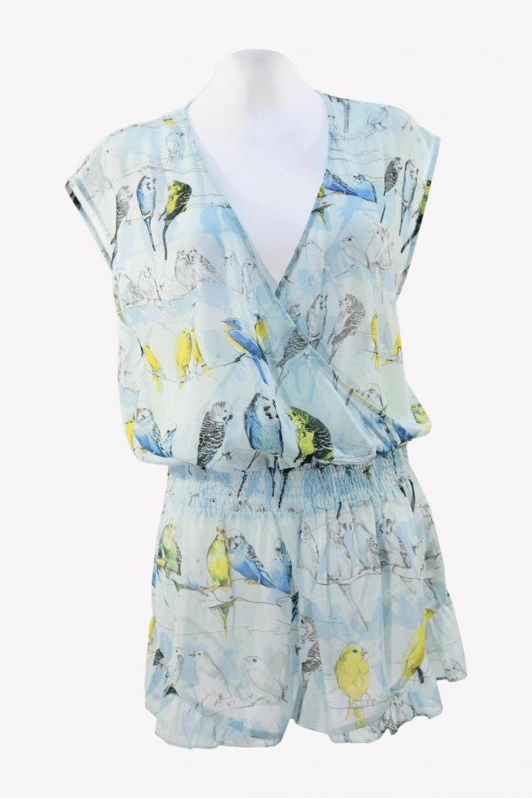 Ted Baker Overall in Multicolor aus Polyester Frühjahr / Sommer.1