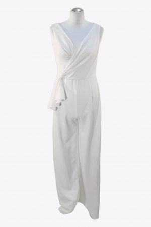 Adrianna Papell Overall in Weiß aus Polyester Alle Jahreszeiten.1