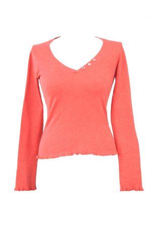Whistles Sweatshirt in Korall aus Baumwolle Alle Jahreszeiten.1