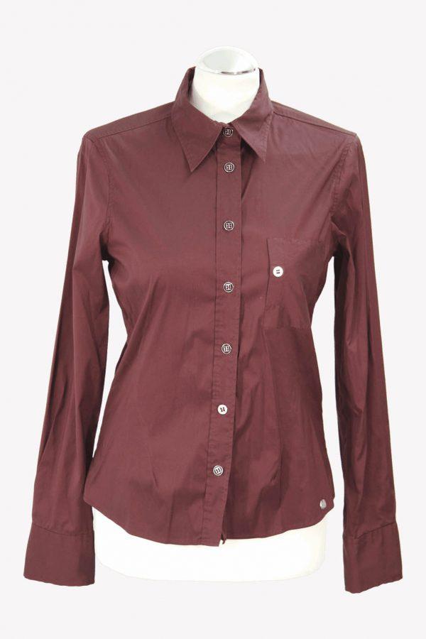 Ted Baker Hemd in Bordeaux aus Baumwolle Alle Jahreszeiten.1