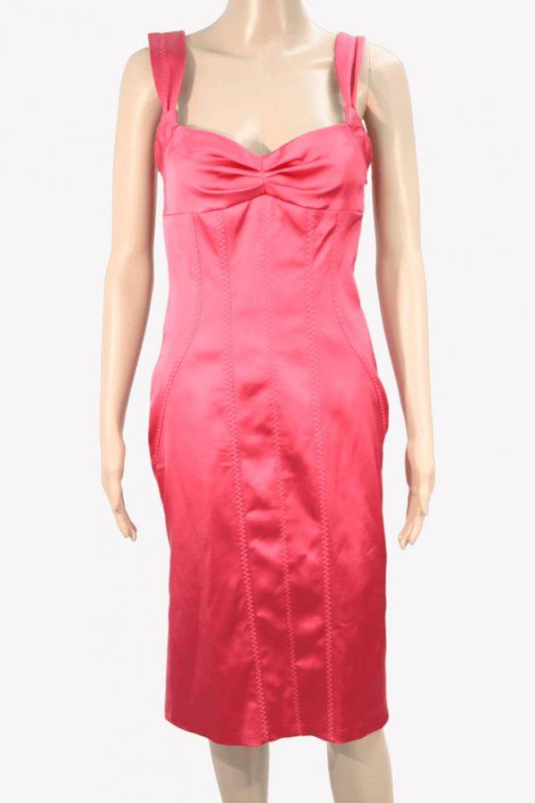 Karen Millen Kleid in Pink aus Acetat Frühjahr / Sommer.1