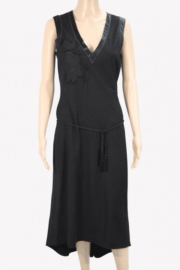 Ted Baker Kleid in Schwarz aus Polyester Frühjahr / Sommer.1