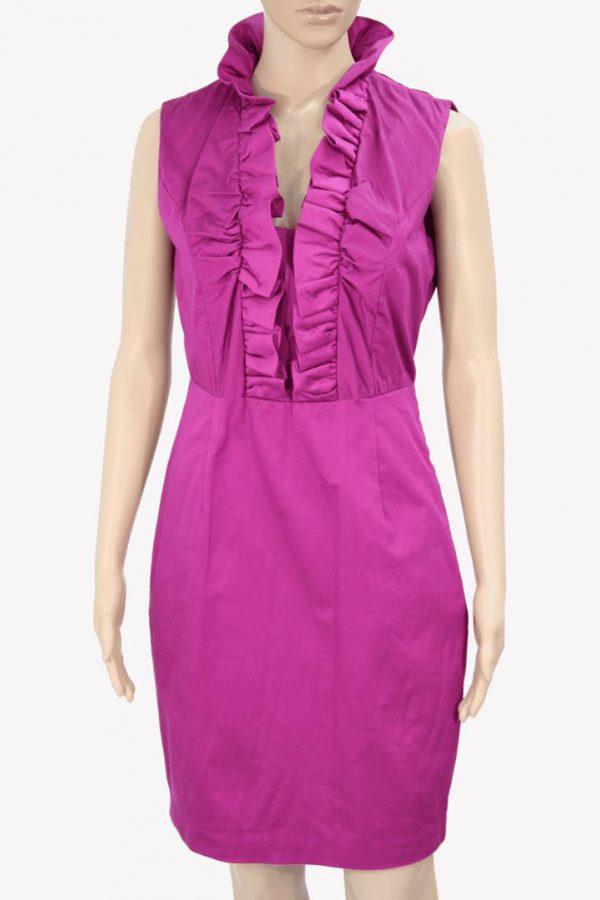 Ted Baker Kleid in Violett aus Polyester Alle Jahreszeiten.1