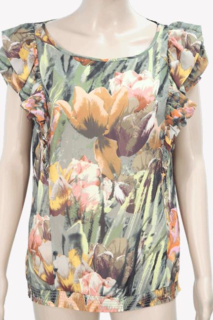 Ted Baker Oberteil mit Muster aus Polyester Frühjahr / Sommer.1