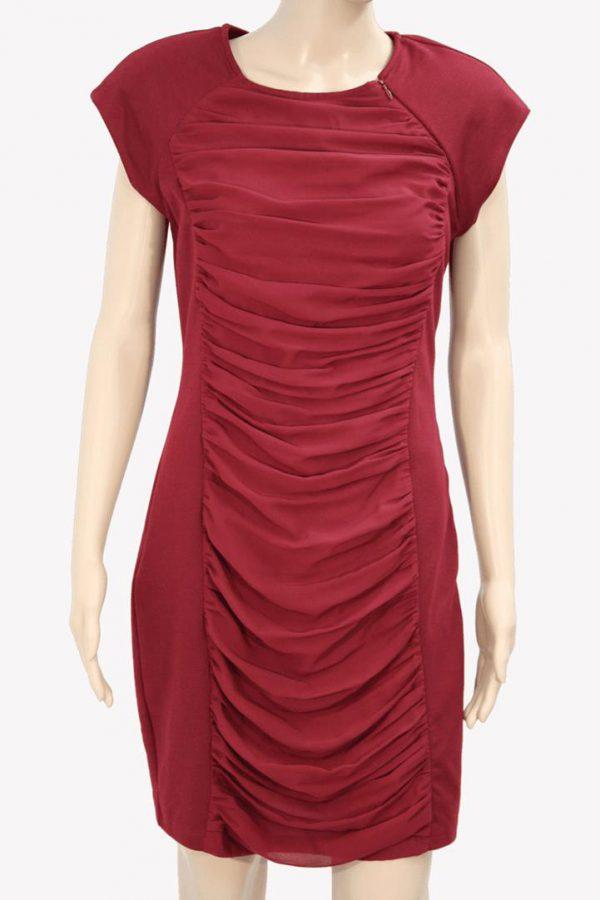 Ted Baker Kleid in Bordeaux aus Polyester Alle Jahreszeiten.1