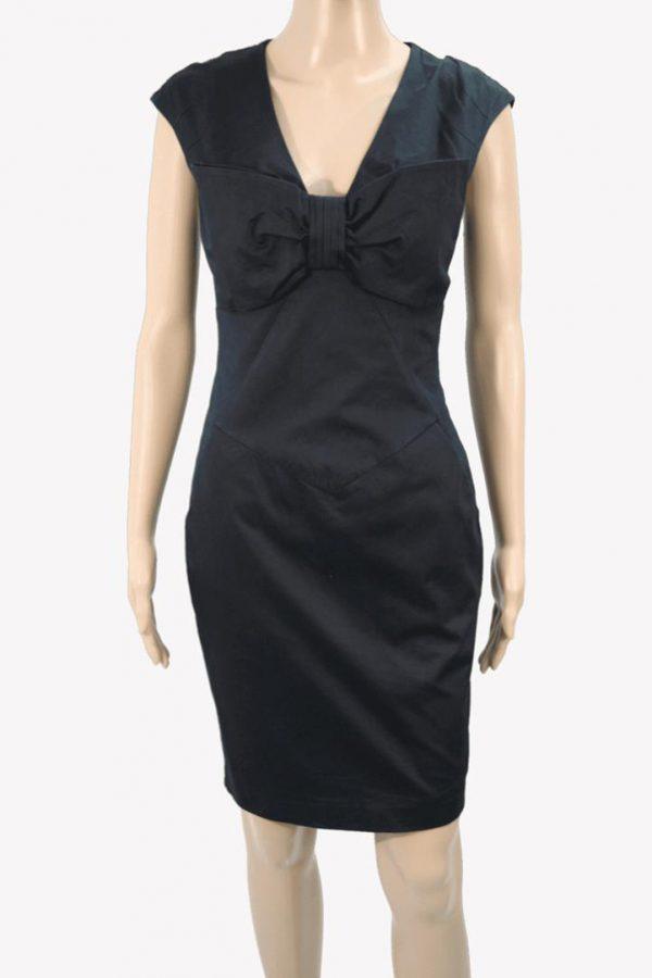 Ted Baker Kleid in Dunkelblau aus Baumwolle Alle Jahreszeiten.1