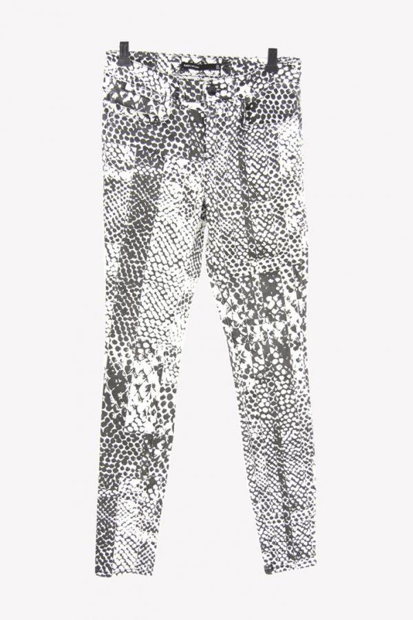 Karen Millen Jeans mit Muster aus Baumwolle Alle Jahreszeiten.1