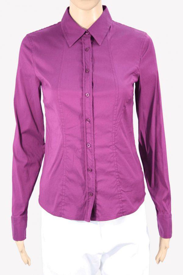 Armani Hemd in Violett aus Baumwolle Alle Jahreszeiten.1