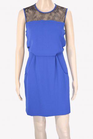 Whistles Kleid in Blau aus Polyester Alle Jahreszeiten.1