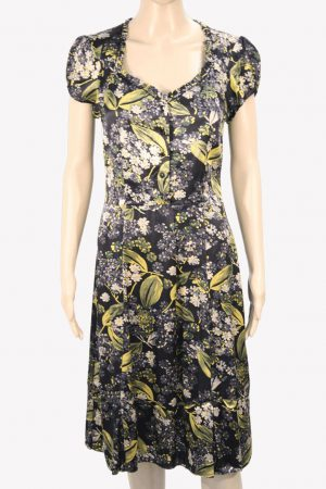 Whistles Seidenkleid mit Muster aus Seide Frühjahr / Sommer.1