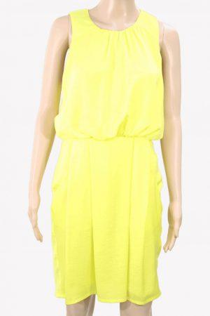 Whistles Kleid in Gelb aus Polyester Frühjahr / Sommer.1