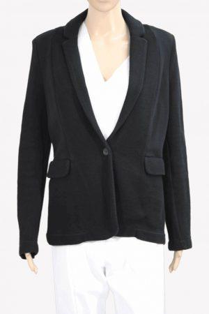 Whistles Jacke in Schwarz aus Baumwolle Alle Jahreszeiten.1