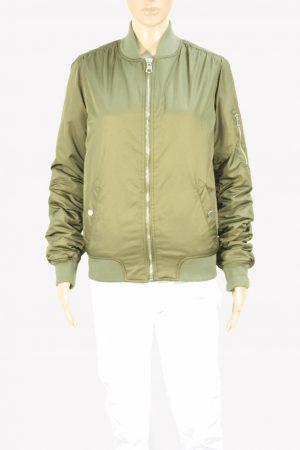 Topshop Jacke in Khaki aus Polyester Herbst / Winter.1